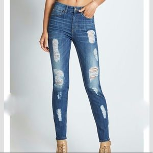 Guess 1981 HIGH-RISE SKINNY JEANS IN CALLER 24